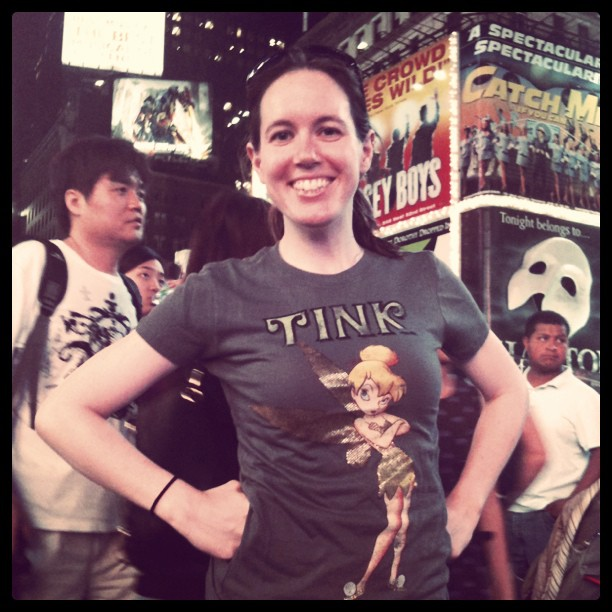 Tink in Times Square!