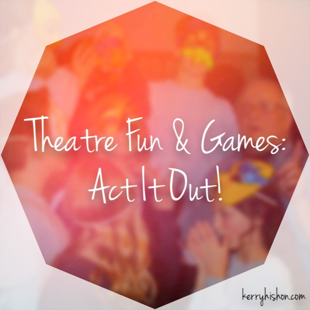 T.A.G. Update - Mime & Tableau, and Theatre Etiquette (Plus, Act It Out!)