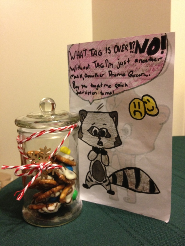 A wonderful gift I received from one of my T.A.G. students!