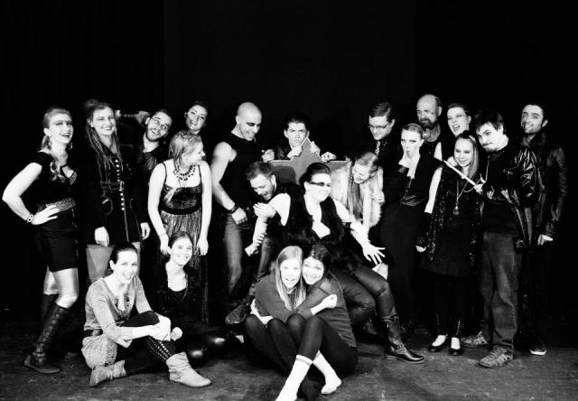 The gorgeous cast of Edward II. Missing these lovelies! Photo Credit: Brendan Wield Photography