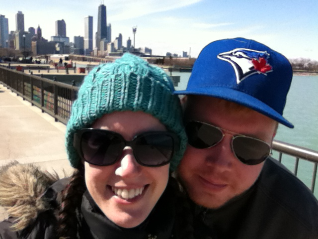 Two Canadians in the Windy City!