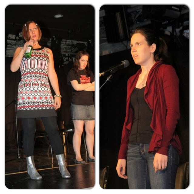 Memories of The NO Show in 2011!  Appearing with Sookie Mei on the left.Photo Credit: Richard Gilmore