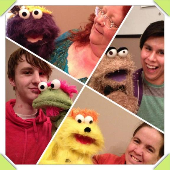 Puppet Making Day 2: Electric Boogaloo!