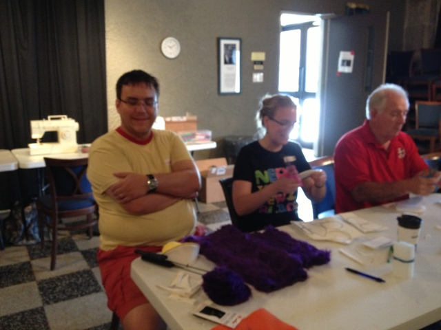 Puppet Making Day 3: Return of the Puppets!