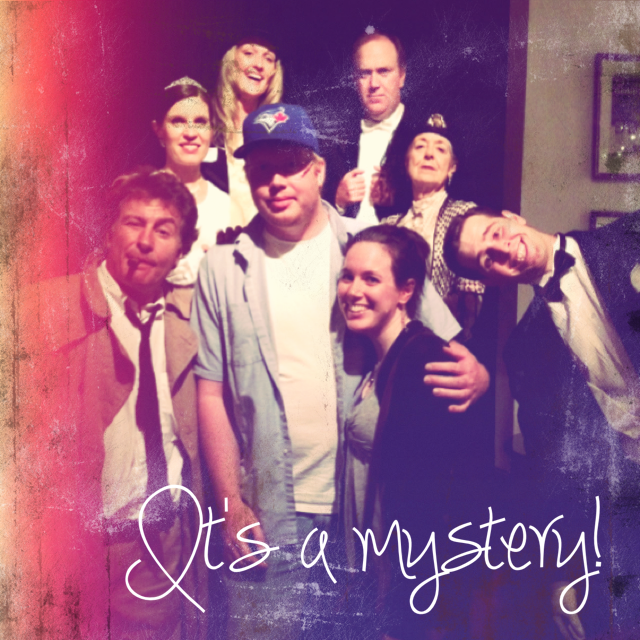 Whodunit?!  Solving the case at Mysteriously Yours!