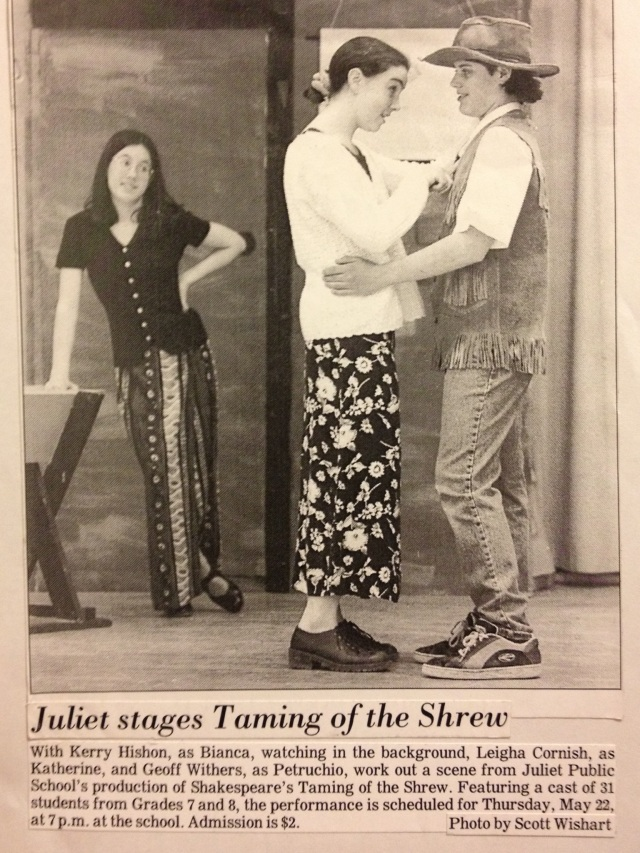 Throwback Thursday: The Taming of the Shrew