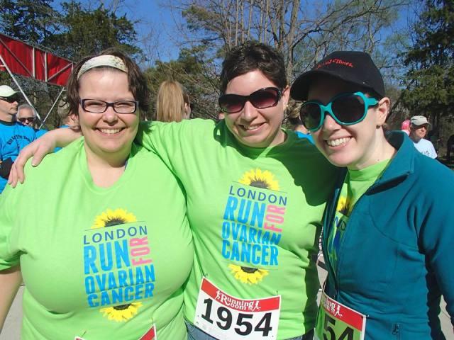 Running Daze: Run For Ovarian Cancer 2014