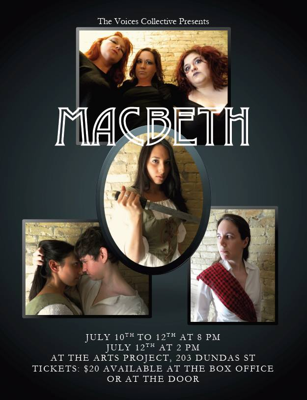 Official Art for TVC's Macbeth!