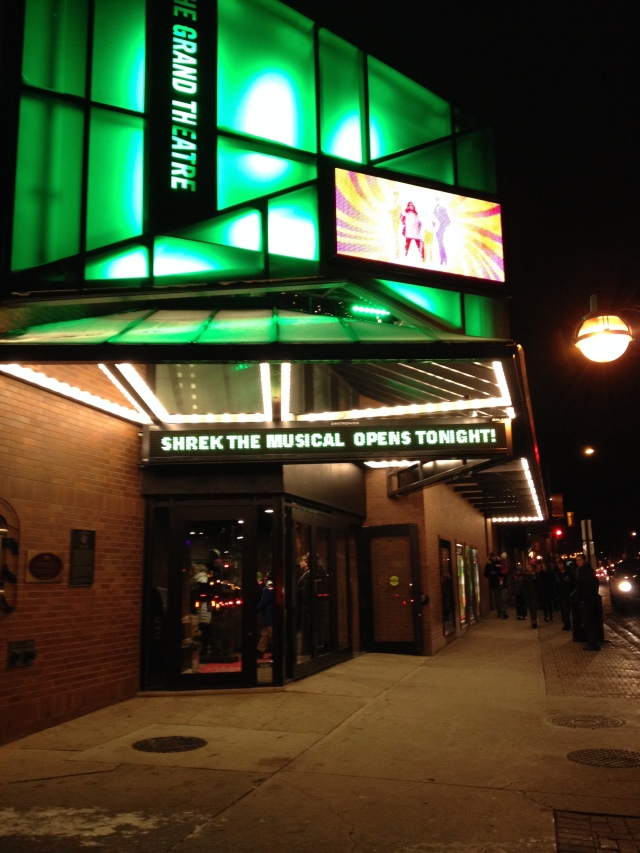 A Grand Time at Shrek the Musical!