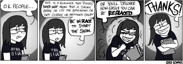 Friday Funnies: Q2Q Comics