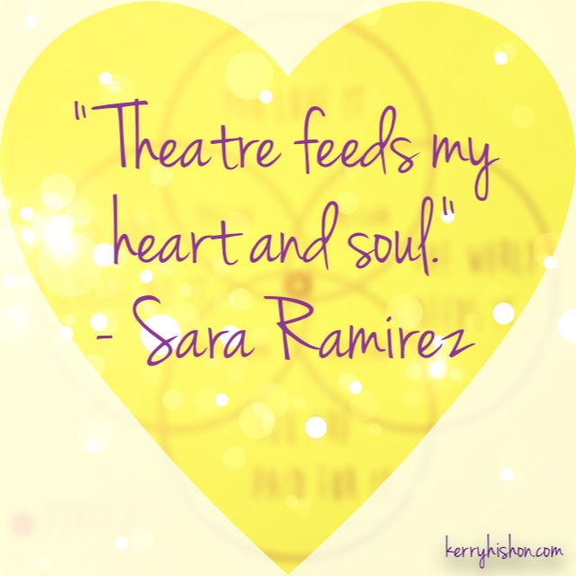 Wednesday Words of Wisdom - Sara Ramirez