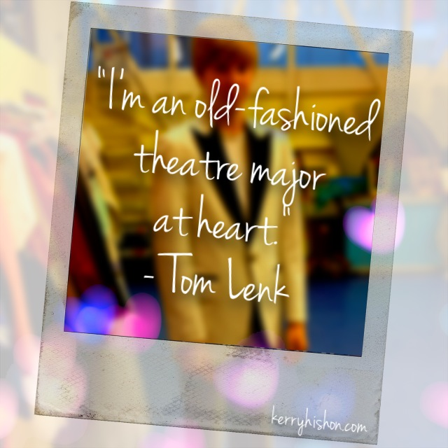 Wednesday Words of Wisdom - Tom Lenk