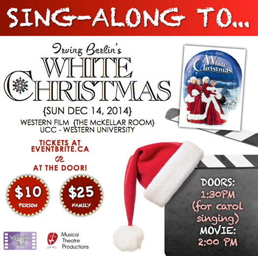 Come Sing Along to White Christmas!