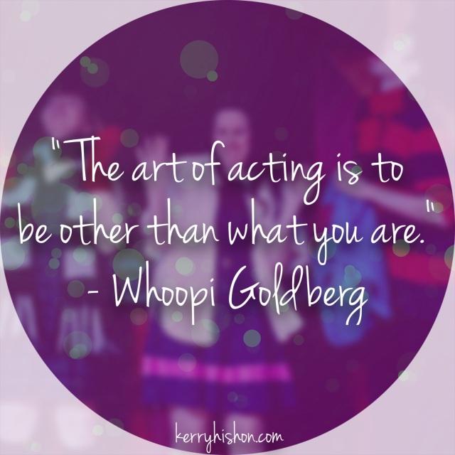 Wednesday Words of Wisdom - Whoopi Goldberg