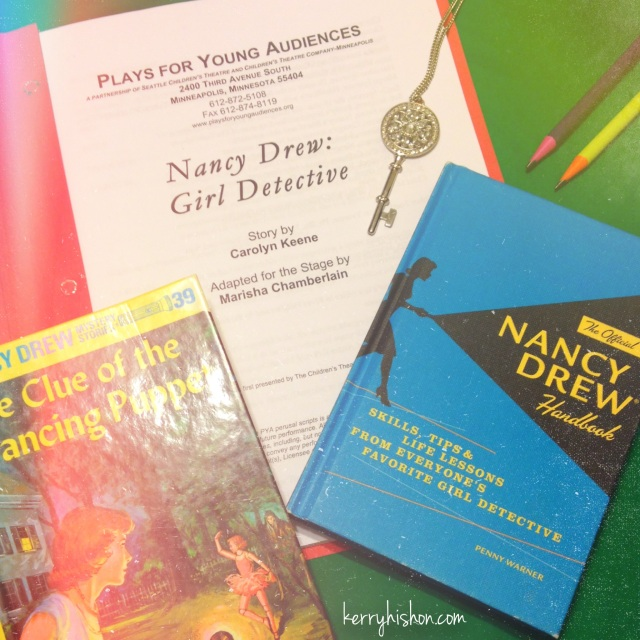 First Rehearsal Excitement... Nancy Drew Starts Today!