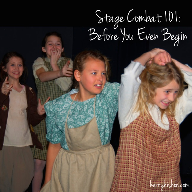 Stage Combat 101: Before You Even Begin