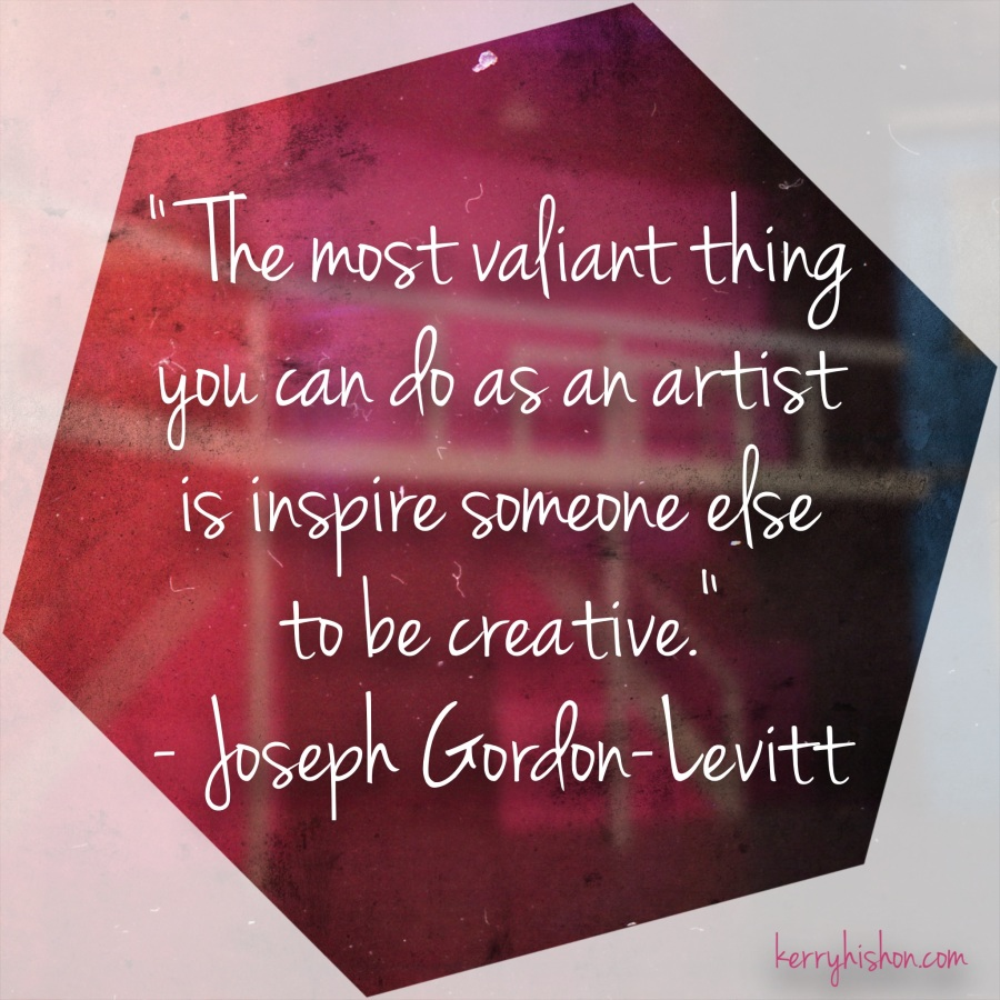 Wednesday Words of Wisdom - Joseph Gordon-Levitt