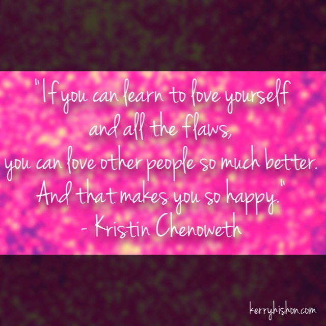 Wednesday Words of Wisdom - Kristin Chenoweth