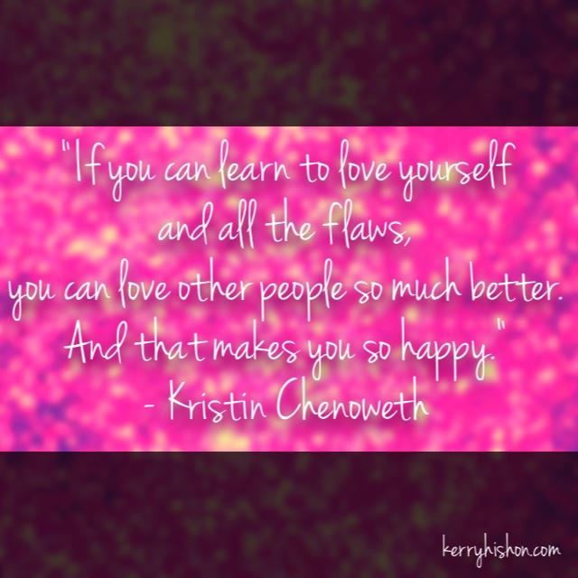 Wednesday Words of Wisdom - Kristin Chenoweth