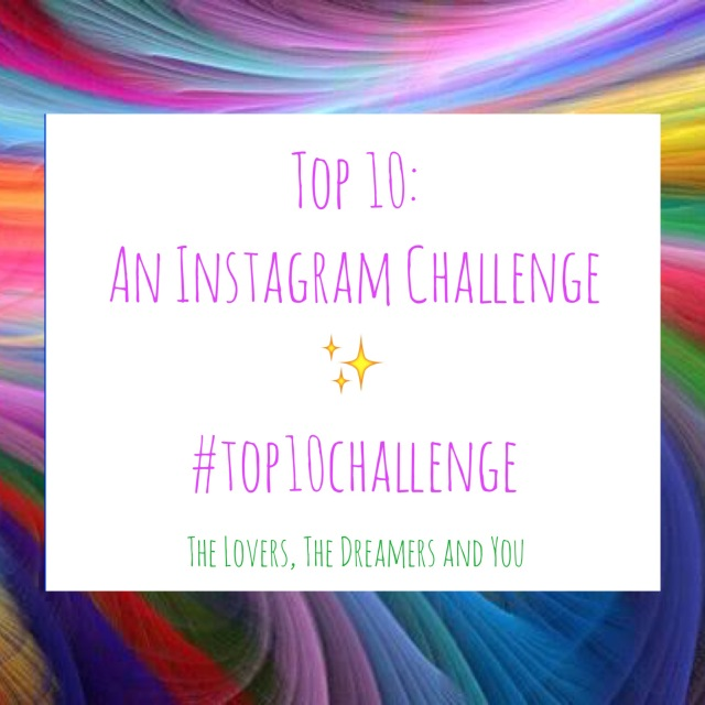Show Us Your Creative Side! An Instagram Photo Challenge with The Lovers, The Dreamers and You