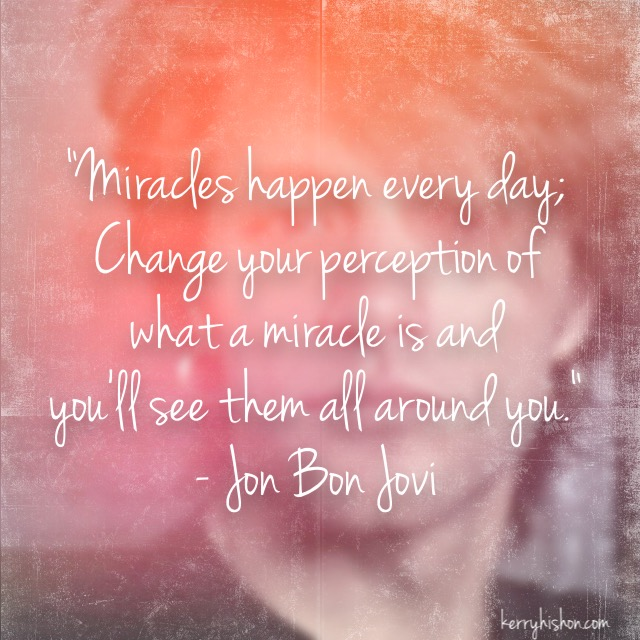 Wednesday Words of Wisdom - Jon Bon Jovi