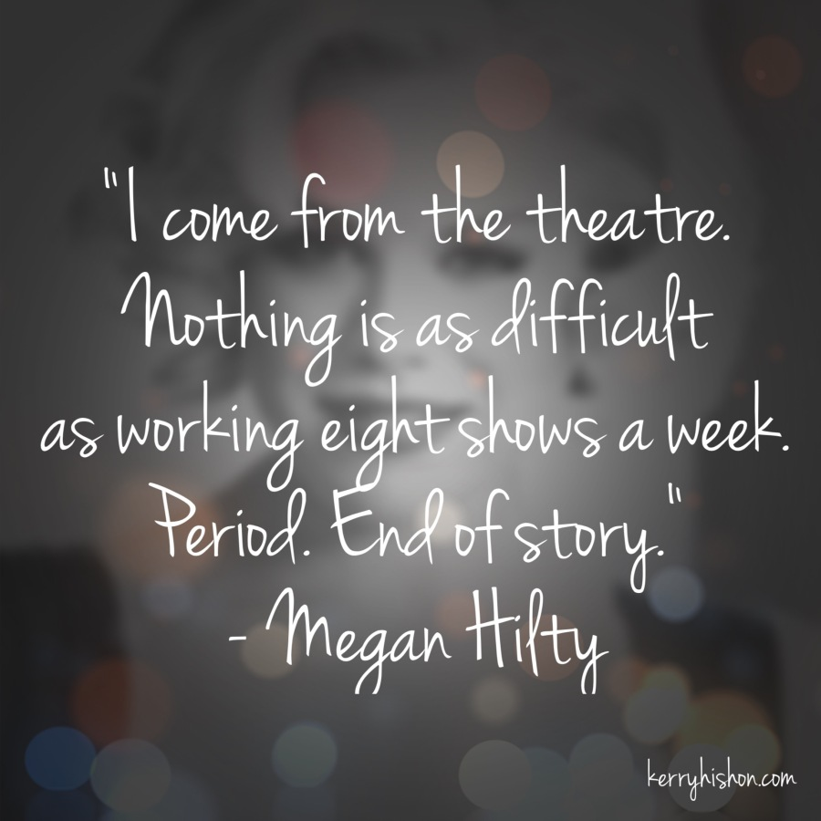 Wednesday Words of Wisdom - Megan Hilty