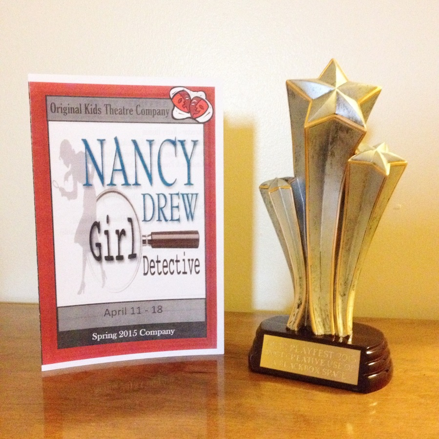 Nancy Drew is a Winner!