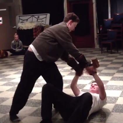 Disney's Beauty and the Beast Jr. Fight Choreography