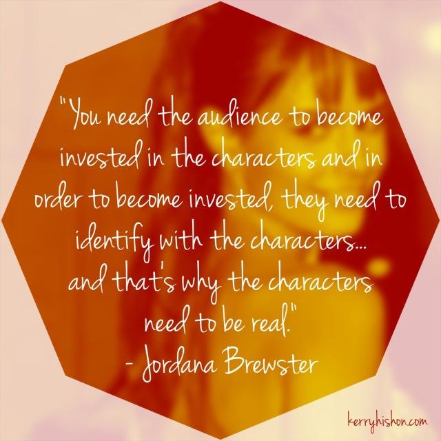 Wednesday Words of Wisdom - Jordana Brewster