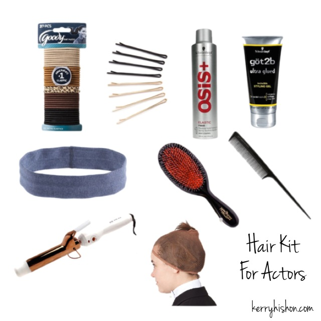 9 Items That Should Be In Every Actor's Hair Kit