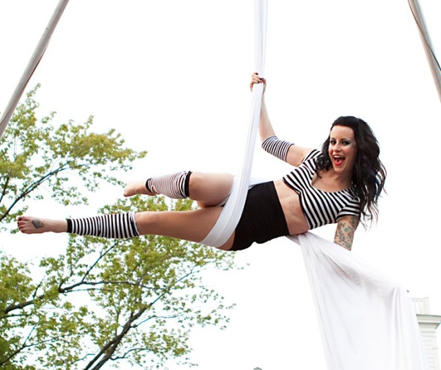 Theatre Talk With Sarah Morgan, Circus Aerialist & Web Designer