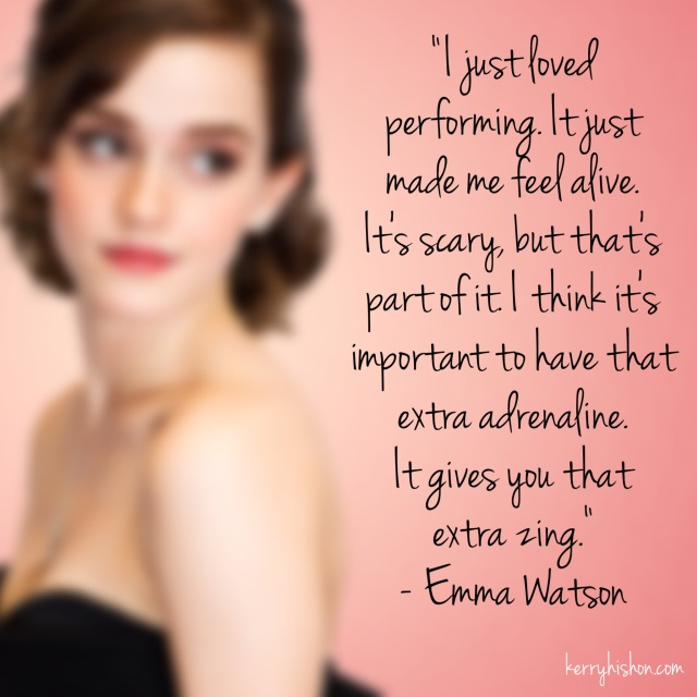 Wednesday Words of Wisdom - Emma Watson