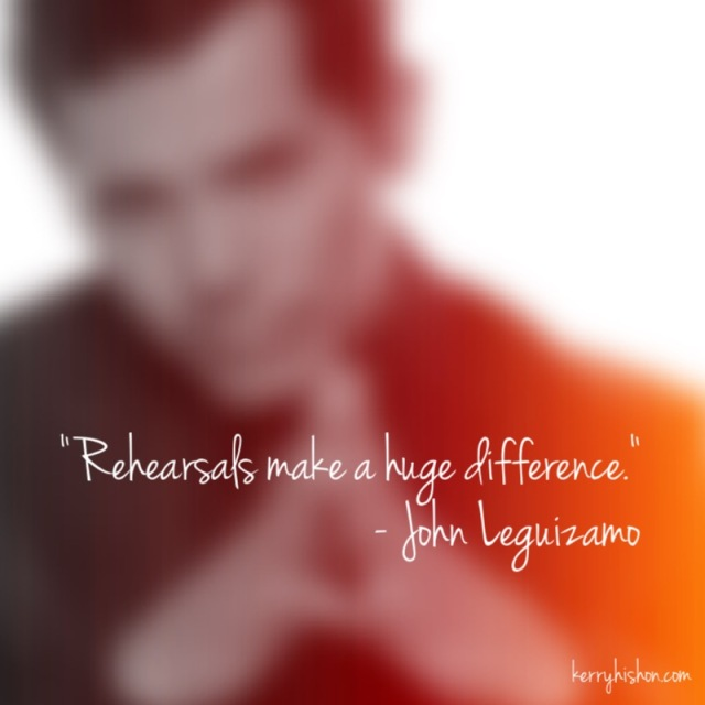 Wednesday Words of Wisdom - John Leguizamo
