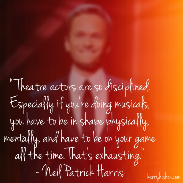 Wednesday Words of Wisdom - Neil Patrick Harris
