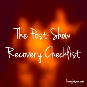 The Post-Show Recovery Checklist