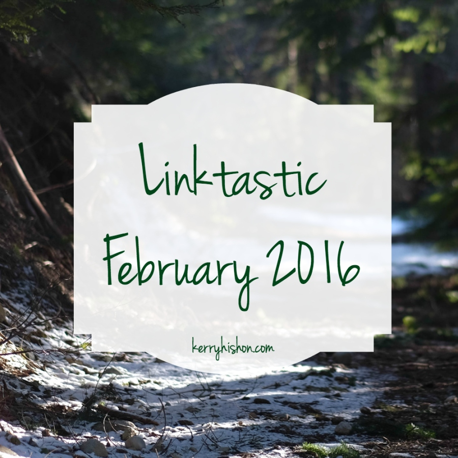 Linktastic - February 2016