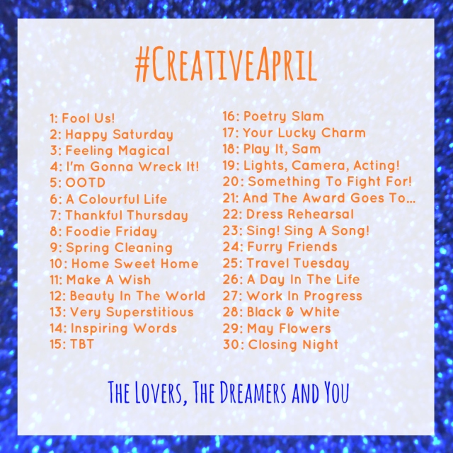Get Insta-Creative in April With The Lovers, The Dreamers and You