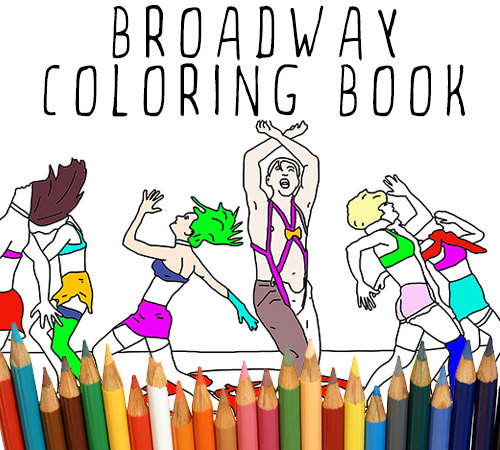 Win Your Own Copy of The Broadway Coloring Book! [Giveaway!]