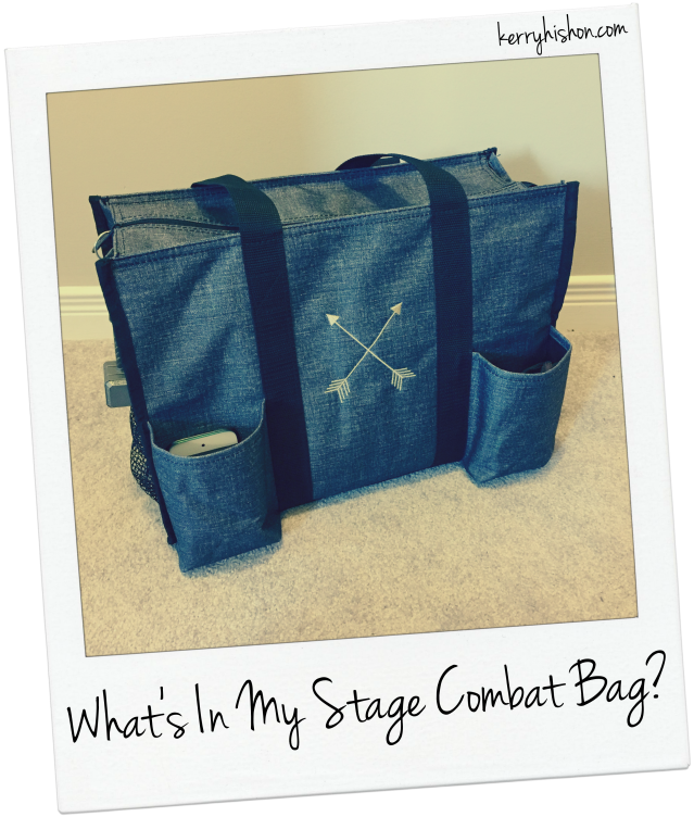 What's In My Stage Combat Bag?